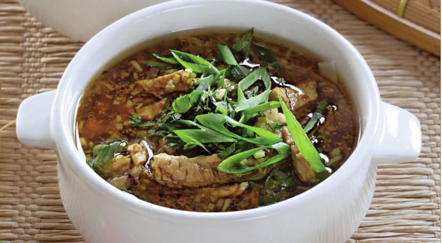 Миен га, вьетнамский куриный суп | Рецепты с фото