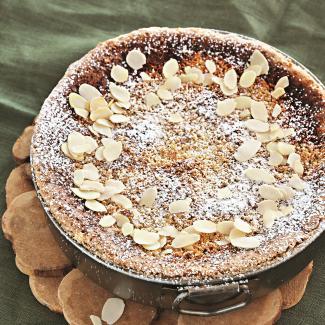 Миндальный пирог | Рецепты с фото
