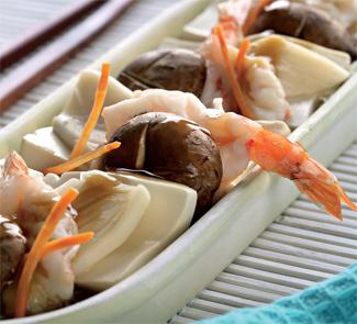 Морепродукты с тофу | Рецепты с фото