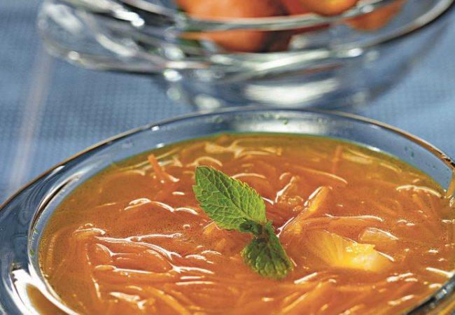 Морковный суп с медом и имбирем | Рецепты с фото