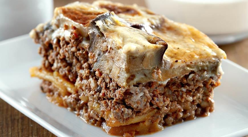 Мусака с баклажанами | Рецепты с фото