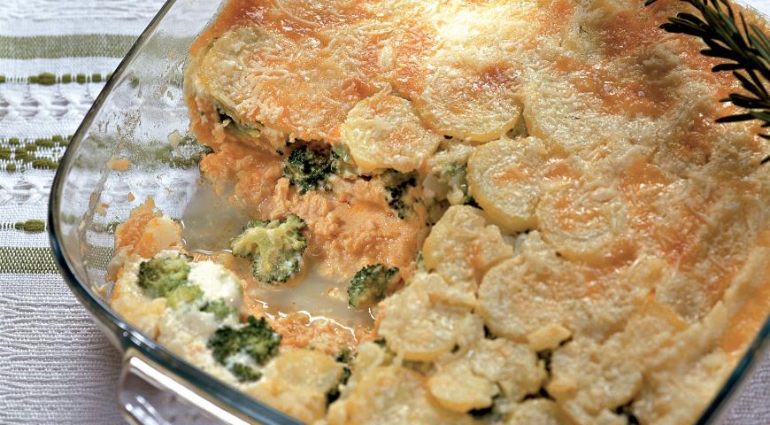 Мусс из лосося с картофелем | Рецепты с фото