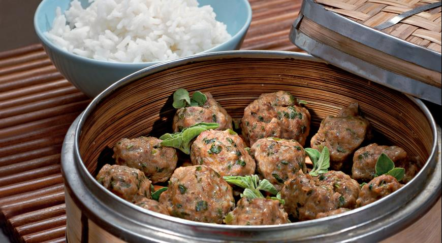 Мясные шарики на пару | Рецепты с фото