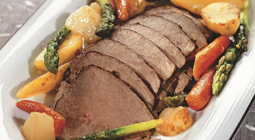 Мясо с молодыми овощами | Рецепты с фото
