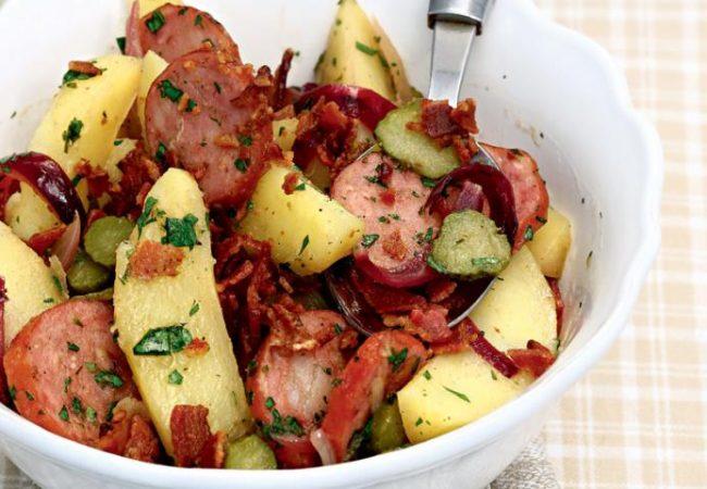 Немецкий картофельный салат | Рецепты с фото