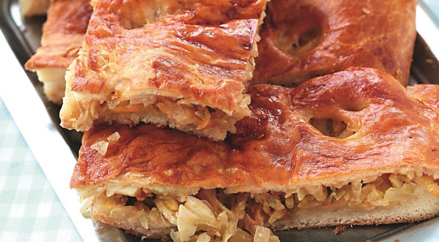 Нежный пирог скапустой | Рецепты с фото