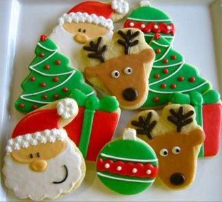 Новогоднее имбирное печенье из Финляндии | Рецепты с фото