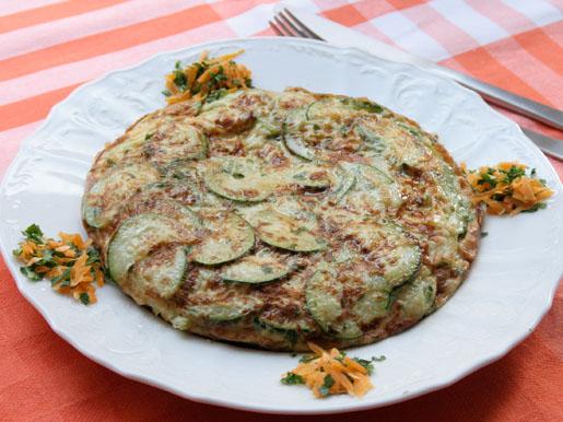 Омлет с кабачками | Рецепты с фото
