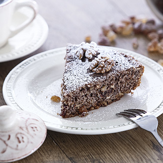 Ореховый пирог в мультиварке | Рецепты с фото