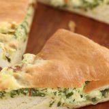 Осетинский пирог из листьев свеклы и свежего сыра | Рецепты с фото