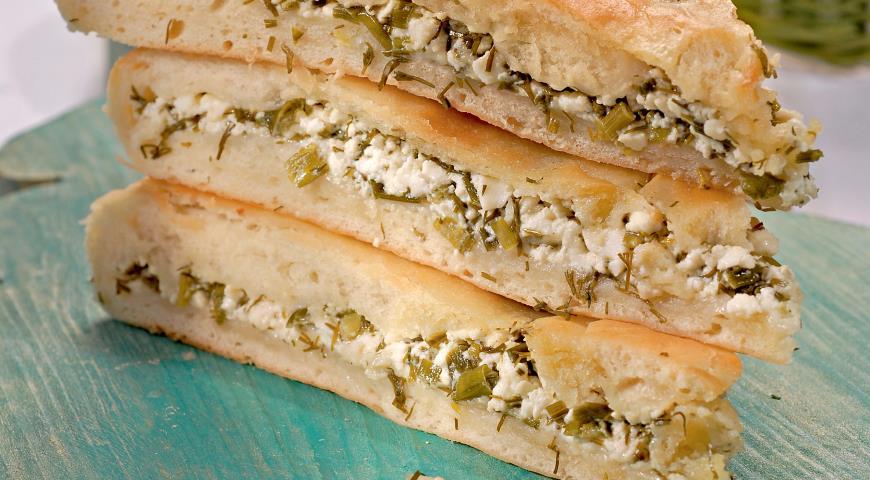 Осетинский пирог с зеленью | Рецепты с фото