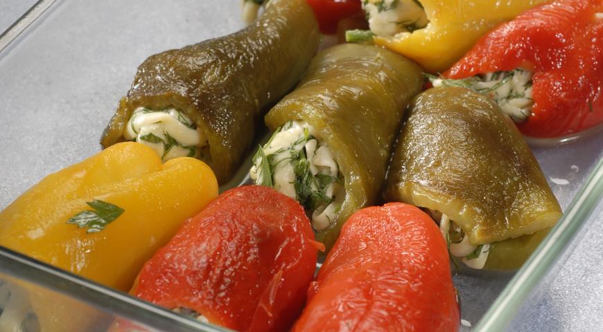 Острая закуска из перцев | Рецепты с фото