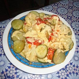 Овощи под сыром в мультиварке | Рецепты с фото