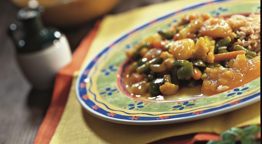 Овощное карри   Рецепты с фото