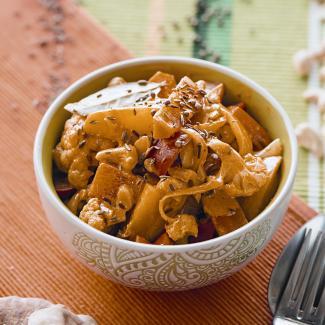 Овощное рагу виндийском стиле | Рецепты с фото