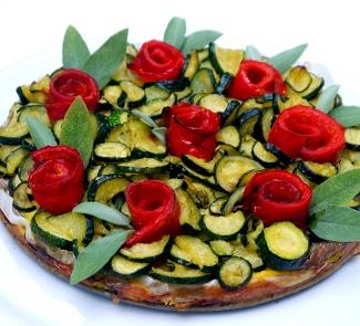 Овощной торт без теста | Рецепты с фото