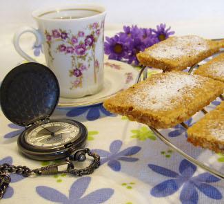 Овсяно-ореховое печенье Файв-о-Клок | Рецепты с фото