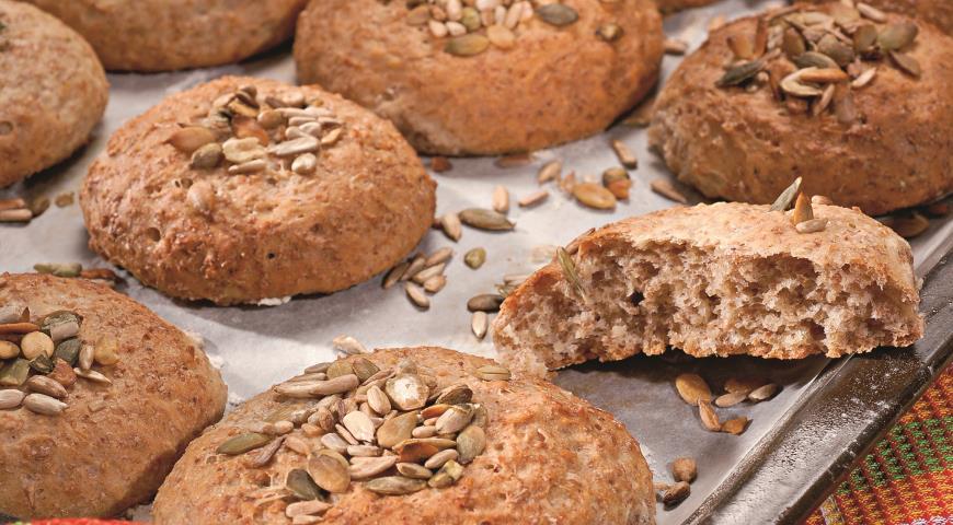 Овсяные булочки с семечками | Рецепты с фото