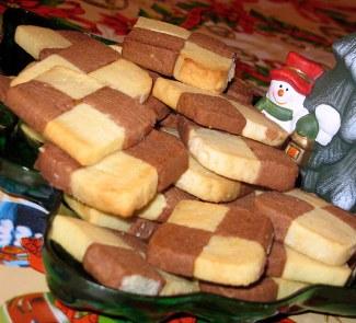 Печенье Двухцветное сабле | Рецепты с фото
