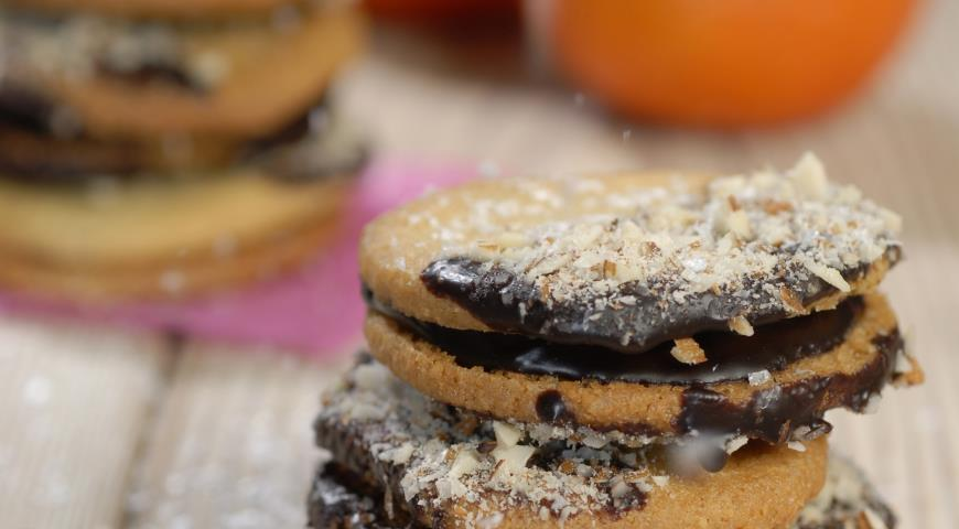 Печенье-сэндвичи | Рецепты с фото