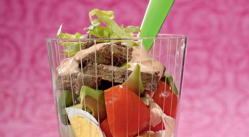 Перигорский салат   Рецепты с фото