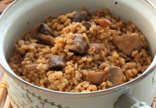 Перловка с грибами | Рецепты с фото