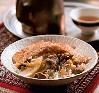 Персидский плов с айвой | Рецепты с фото