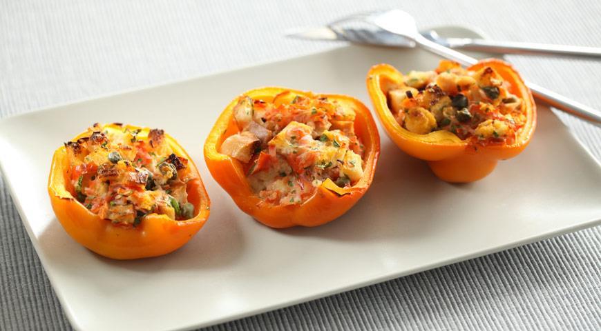 Перцы с начинкой по-итальянски | Рецепты с фото