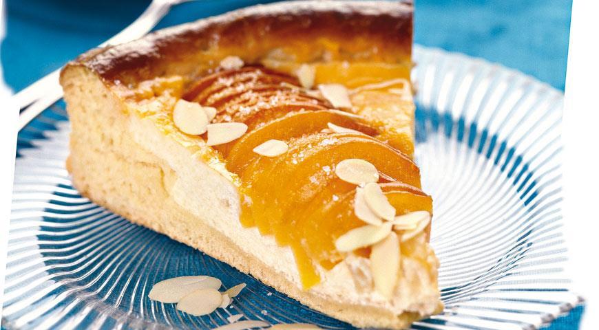 Пирог из абрикосов с творогом | Рецепты с фото