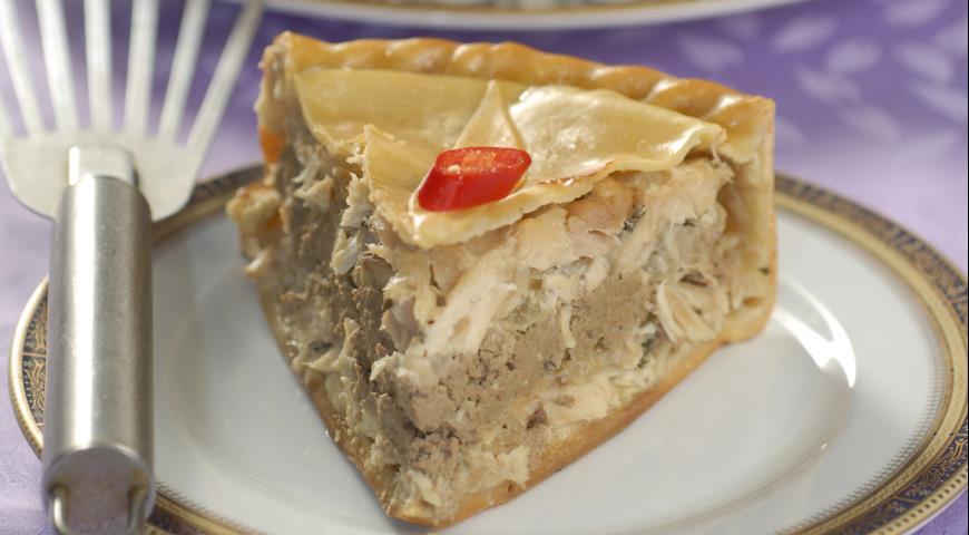 Пирог из кролика с паштетом | Рецепты с фото