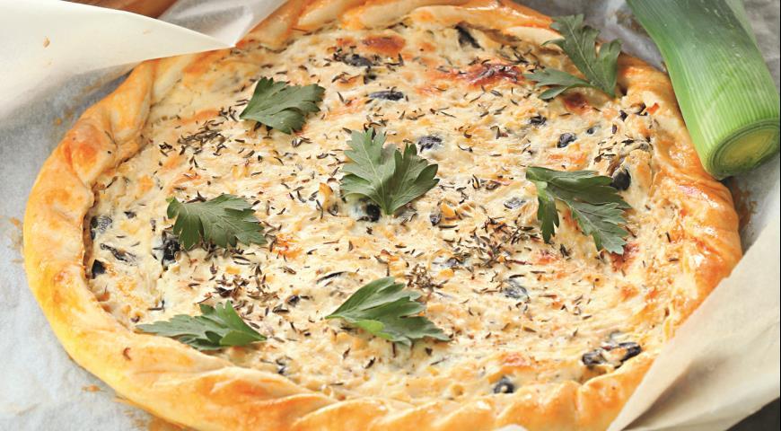 Пирог скозьим сыром | Рецепты с фото