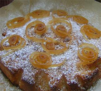 Пирог с айвой | Рецепты с фото