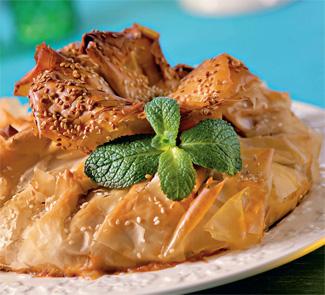 Пирог с бараниной в тесте фило | Рецепты с фото