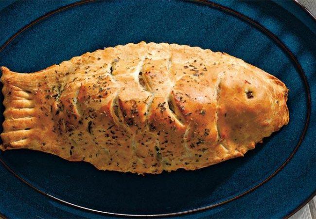 Пирог с дорадой и травами | Рецепты с фото