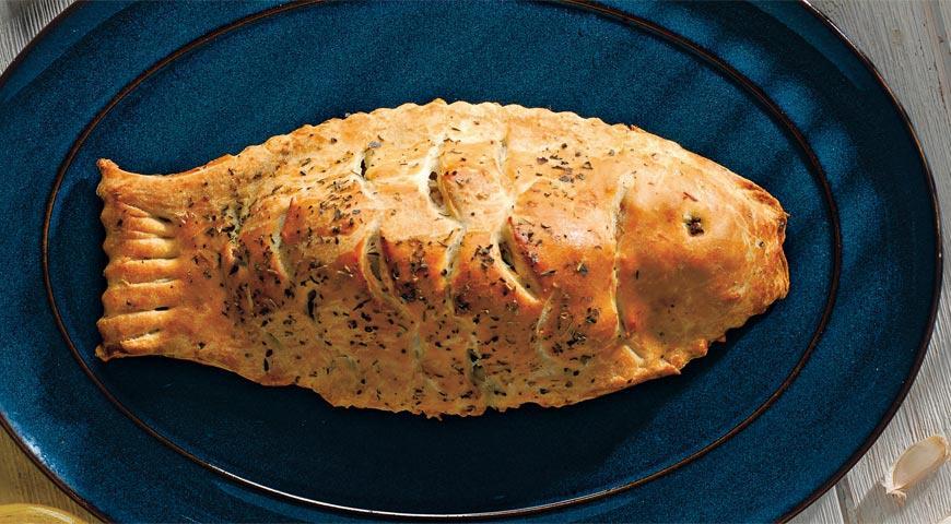 Пирог с дорадой и травами   Рецепты с фото