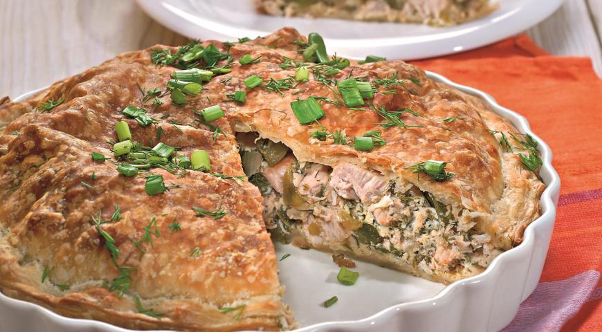 Пирог с индейкой | Рецепты с фото