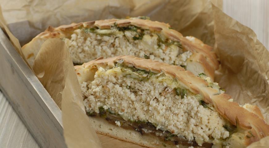 Пирог с легким, сыром и баклажанами | Рецепты с фото