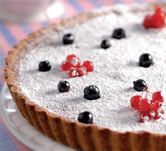 Пирог со смородиной и красным вином | Рецепты с фото