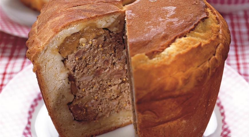 Пирог со свининой | Рецепты с фото