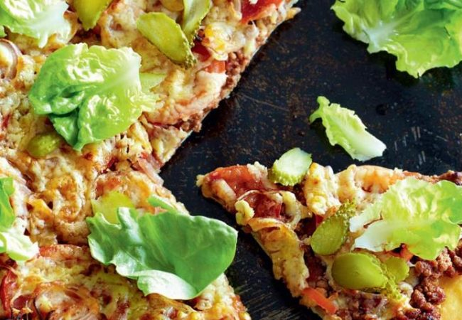 Пицца в стиле бигмак | Рецепты с фото