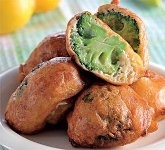 Пончики из брокколи | Рецепты с фото