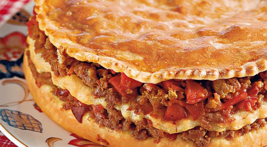 Португальский мясной пирог | Рецепты с фото