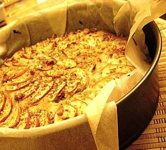 Пряный яблочный пирог | Рецепты с фото