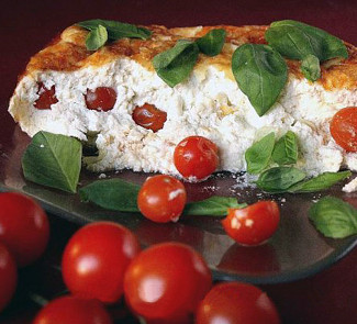 Пудинг с помидорами | Рецепты с фото