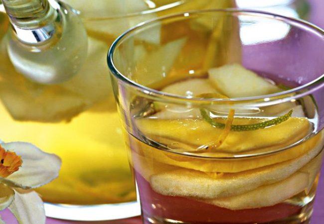 Пунш из белого вина | Рецепты с фото