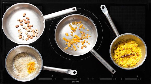 Рис с сухофруктами и орехами по-арабски | Рецепты с фото