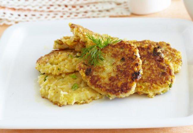 Рисовые оладьи с сыром | Рецепты с фото