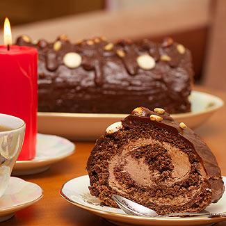 Рулет Шоколадный | Рецепты с фото