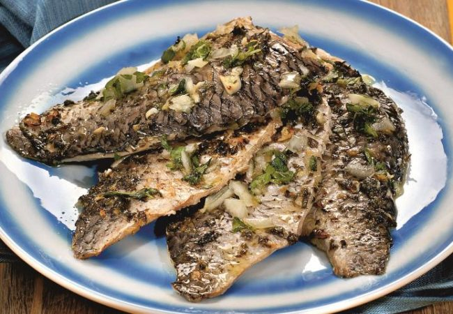 Рыба по-тунисски в духовке | Рецепты с фото