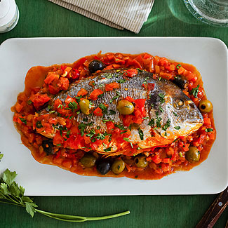 Рыба по-турецки в мультиварке | Рецепты с фото